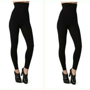 BOGO Spanx Womens Shaping Control Footless Tights